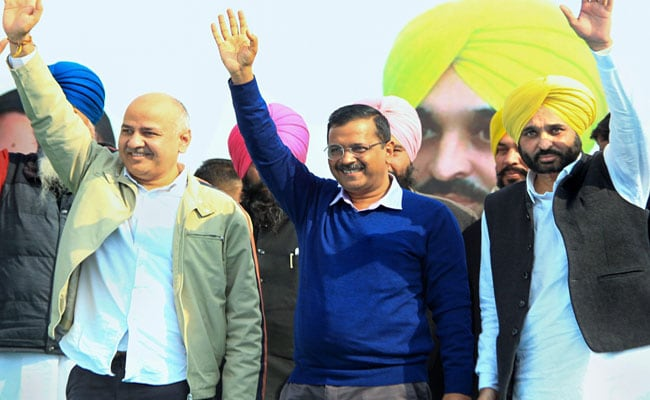 'Won My Heart': Arvind Kejriwal On Bhagwant Mann's 'No Drinking' Promise