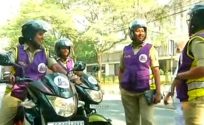 In A First, Women Cops To Patrol Streets In Hyderabad