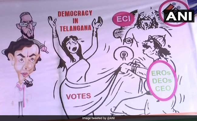 कांग्रेस के पोस्टर में 'द्रौपदी वस्त्रहरण' पर विवाद, BJP ने राहुल से की माफी की मांग, प्रियंका गांधी से पूछा सवाल