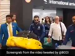 Watch: Indian Team Arrives In New Zealand, Virat Kohli, Anushka Sharma Get Big Reception At Airport