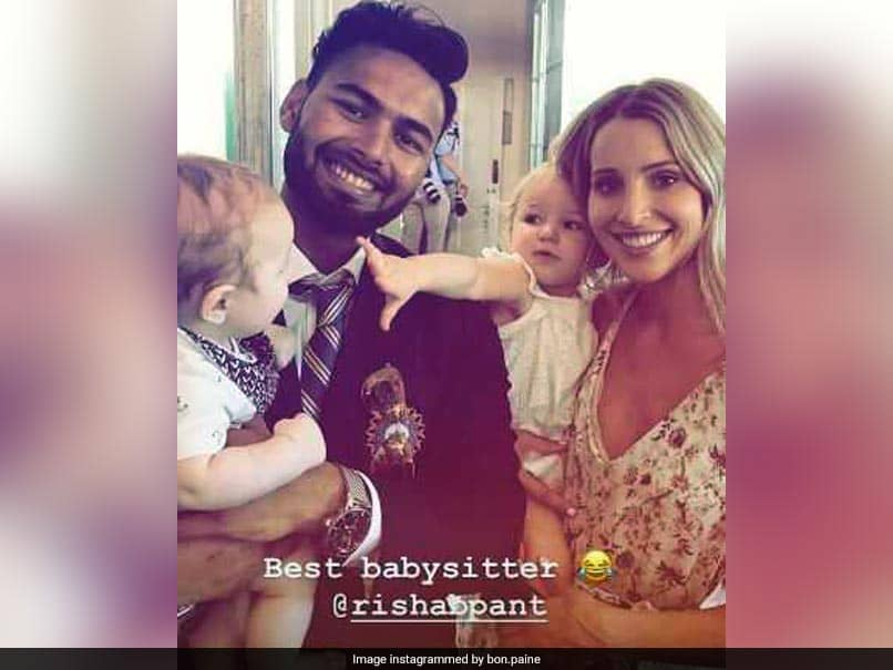 India Vs Australia He S A Good Sport Tim Paine Reacts To Rishabh Pant Babysitting His Kids Cricket News