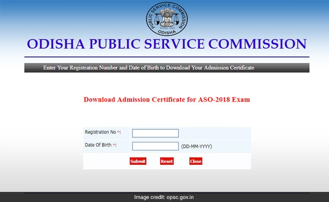 OPSC, OPSC ASO admit card, Odisha ASO admit card, opsc.gov.in