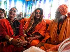 In A First, Transgenders Take Holy Dip At Kumbh Mela