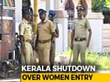 Video : Protester Dies After Clashes Over Sabarimala, Shutdown In Kerala Today