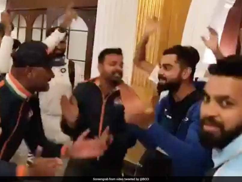"Virat Kohli Dances To ""Mere Desh Ki Dharti"" With Bharat Army. Watch"