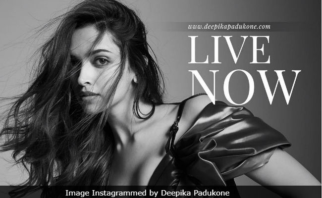 Deepika Padukone Launches Her Own Website On 33rd Birthday