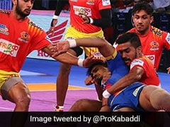 Pro Kabaddi League: Gujarat Fortunegiants Thwart UP Yoddhas