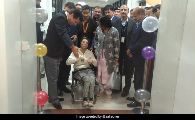 Not VIPs, Woman And Her Mother Inaugurate Aerobridges At Guwahati Airport