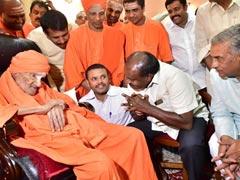 HD Kumaraswamy Seeks Bharat Ratna For Lingayat Seer Shivakumara Swami