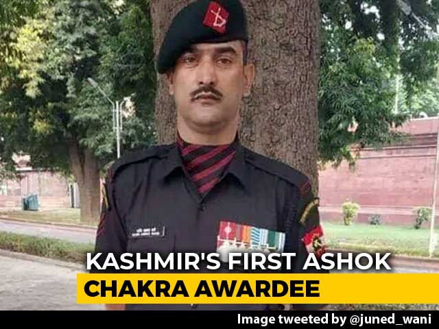 Video : Months After Death, Kashmiri Terrorist-Turned-Soldier To Get Ashok Chakra
