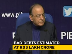 Video: Arun Jaitley Says 70,000-Crores Bad Loan Recovery Likely By March-End