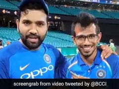 """Australia Did Well To Knock Our Top Three Batsmen"": Rohit Sharma On 'Chahal TV'"