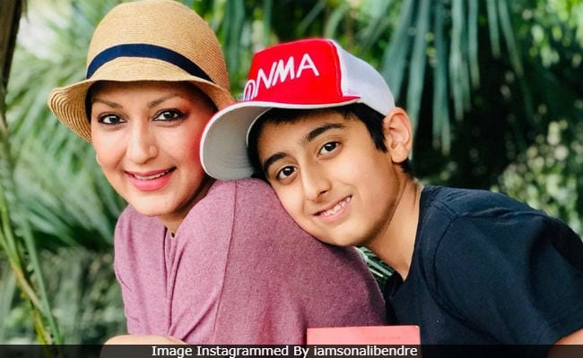 Sonali Bendre And Son Ranveer Collaborate For Her Book Club Event. Details Here