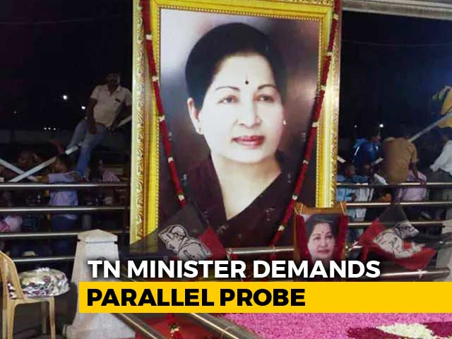 Video : 2 Bureaucrats Lied About Jayalalithaa Health, Alleges Tamil Nadu Minister