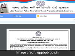 UP Police Admit Card: UPPRPB Releases Constable Hall Ticket; Direct Link Here