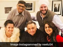 How Neetu And Rishi Kapoor Celebrated Their 39th Wedding Anniversary. See Pic