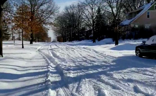Buffalo, New York is slammed by Polar Vortex