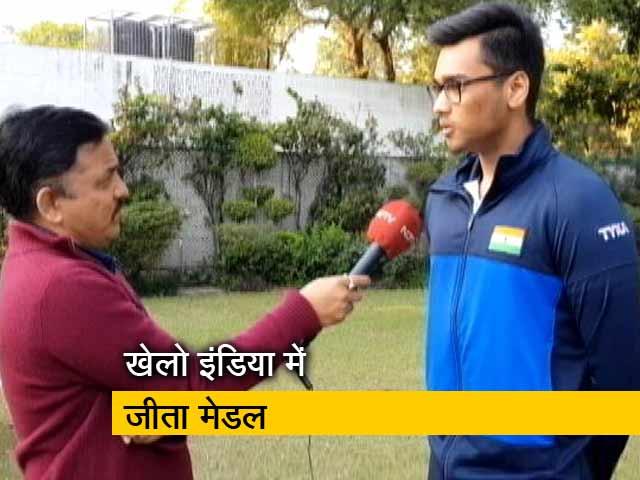 Video : केंद्रीय मंत्री राज्यवर्धन सिंह राठौर के बेटे ने जीता गोल्ड मेडल