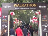 Video : Over 750 People Support Organ Donation At More To Give Walkathon In Delhi
