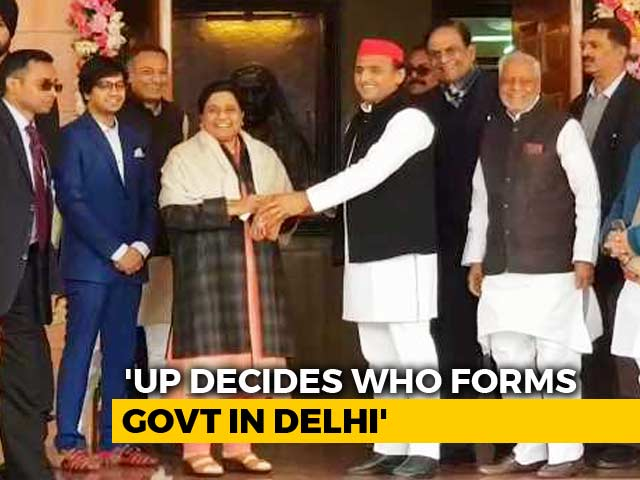 """Video : """"UP Decides Prime Minister..."""": On Birthday, Mayawati Asks For This Gift"""