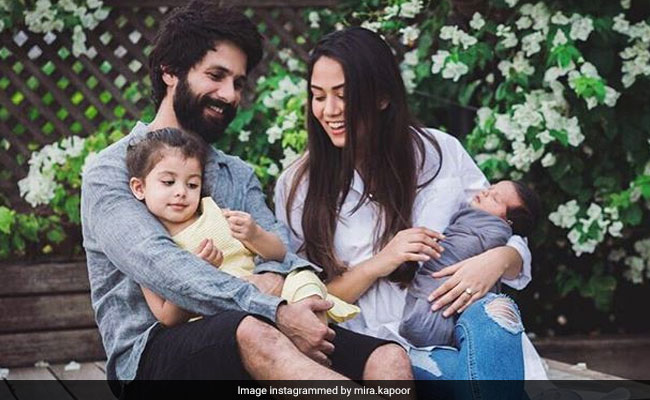 Shahid Kapoor And Mira Rajput's New Year's Special Family Pic Is Winning The Internet
