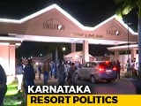 "Video : Congress Moves Karnataka Lawmakers To Resort ""To Protect Them From BJP"""