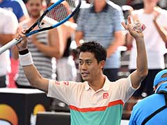 Kei Nishikori Powers Through To Brisbane Final