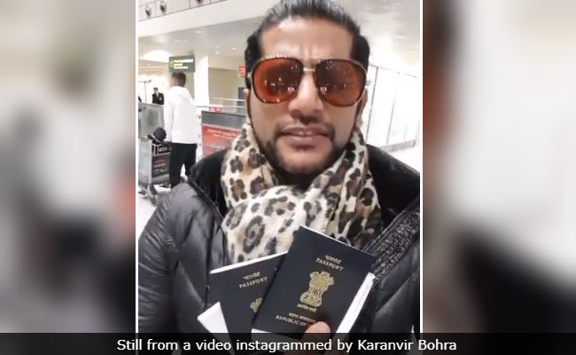 Karanvir Bohra Thanks Sushma Swaraj For Help While Detained At Moscow Airport