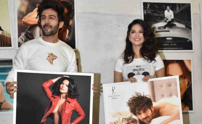 Kartik Aaryan And Sunny Leone's Comedy Of Errors At Dabboo Ratnani's Calendar Launch