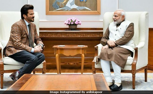 'Humbled And Inspired,' Tweets Anil Kapoor After Meeting PM Modi