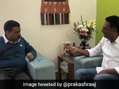"""Need People Like Prakash Raj In Parliament,"" Tweets Arvind Kejriwal"