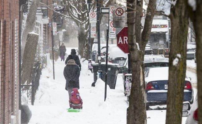 In Freezing US, Polar Vortex In The Forecast Again. Here's What It Means
