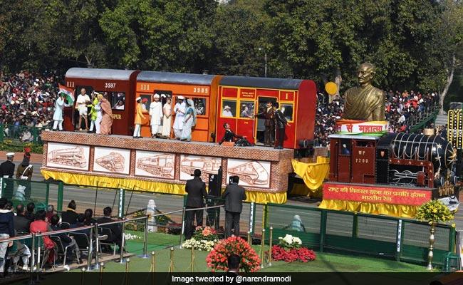 Railways Tableau Traces Gandhi Ji's Journey 'From Mohandas To Mahatma'