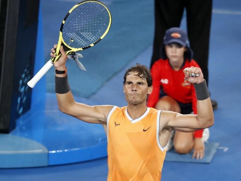 "Rafael Nadal Hails ""Step Forward"" After Brushing Aside Alex De Minaur At Australian Open"