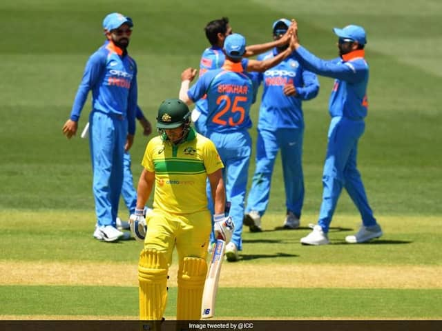 "India vs Australia: ""Weak Link"" Aaron Finch Takes The Blame For Australias ODI Series Loss Against India"