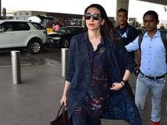 Be A Boss Lady In Striped Suits Like Karisma Kapoor, Kangana Ranaut