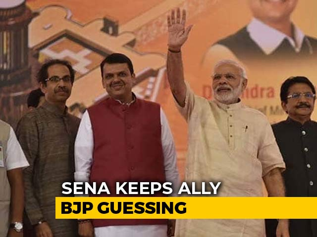 """Video : """"We Are Big Brother In Maharashtra"""": Sena's Message For BJP After Meeting"""