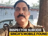Video : Mobile Phone Of UP Cop Killed In Mob Violence Found At Home Of Accused