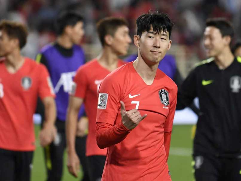 Asian Cup: Son Helps South Korea Beat China 2-0