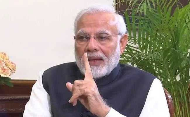 PM Modi Tackles Ayodhya, Gathbandhan, Gandhis In New Year Interview
