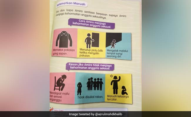 Anger Over Textbook Advising Girls To Protect 'Modesty Of Sexual Organs'