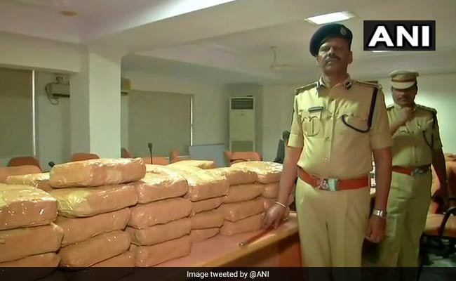 100 Kg Marijuana Seized By Excise Officials In Hyderabad, Arrest 2