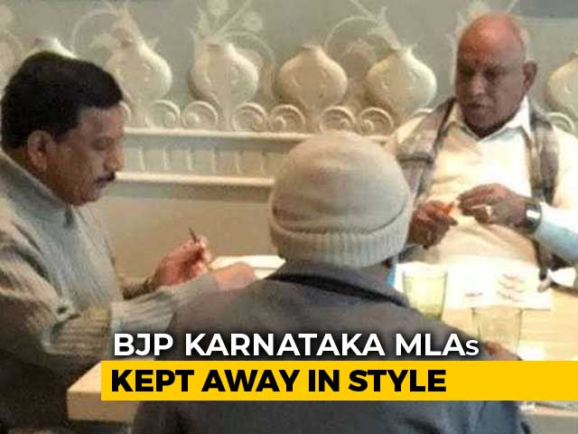 Video : Away From Karnataka Chaos, BJP Lawmakers' 'Boot Camp' At 5-Star Resort