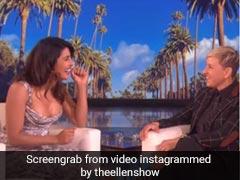 Priyanka Chopra Spills The Beans On Her And Nick Jonas' 'Millennial' Love Story On <i>The Ellen DeGeneres Show</i>