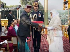 Wife Of Soldier Killed On Duty Receives Ashok Chakra In Poignant Moment
