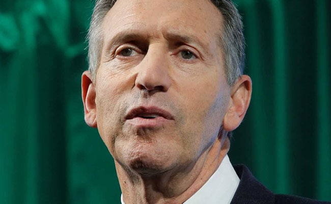 'Don't Help Elect Trump': Ex-Starbucks CEO, Eyeing White House, Heckled