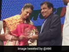 Actor Isha Koppikar Joins BJP As Head Of Women Transport Wing