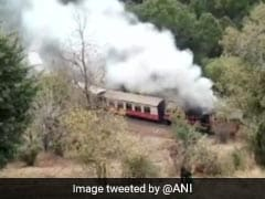 Fire On Himalayan Queen Train In Himachal Pradesh's Solan