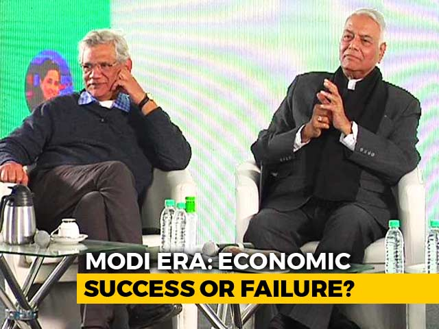 Video : Economics In New India: Yashwant Sinha And Sitaram Yechury's Take