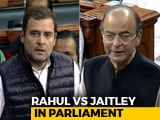 "Video : ""If Not Anil Ambani, Can I Say AA, Ma'am?"" Rahul Gandhi During Debate"